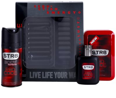 STR8 Red Code coffret presente 2