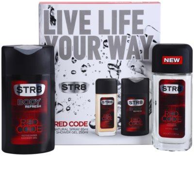 STR8 Red Code set cadou