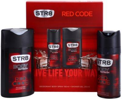 STR8 Red Code coffret presente