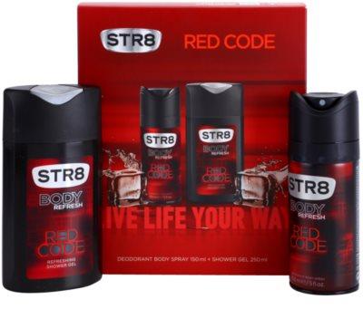 STR8 Red Code подаръчен комплект