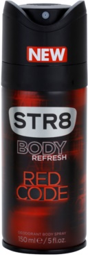 STR8 Red Code deo sprej za moške