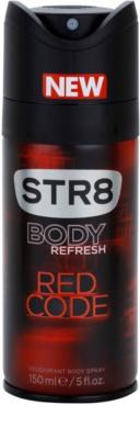 STR8 Red Code deodorant Spray para homens