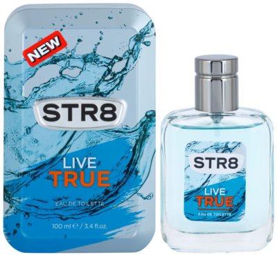STR8 Live True eau de toilette férfiaknak