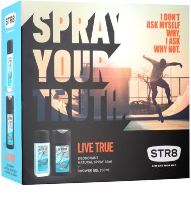 STR8 Live True set cadou 2