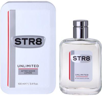 STR8 Unlimited after shave para homens