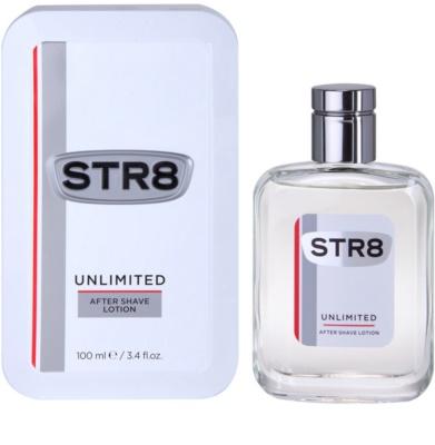 STR8 Unlimited loción after shave para hombre