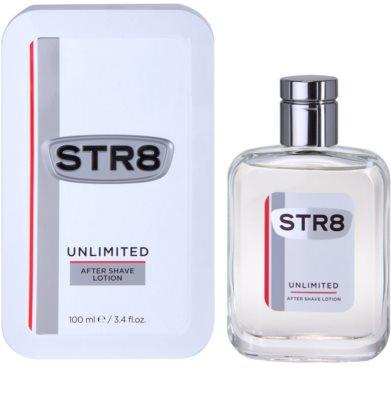 STR8 Unlimited losjon za po britju za moške