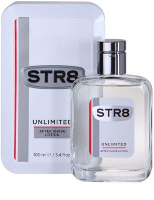 STR8 Unlimited after shave para homens 1