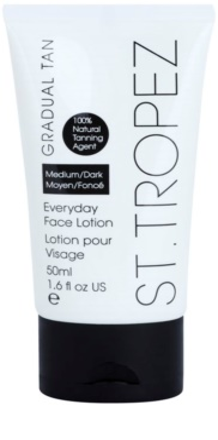 St.Tropez Gradual Tan crema hidratante facial con color de bronceado gradual