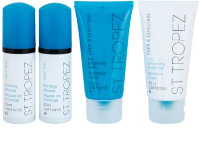 St.Tropez Prep And Maintain lote cosmético I. 1