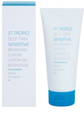 St.Tropez Self Tan Sensitive tonirano vlažilno mleko 1