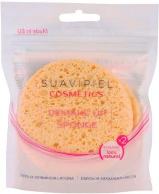 Suavipiel Cosmetics esponja desmaquilhante 2 pçs