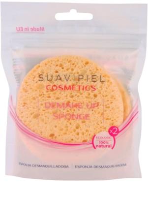 Suavipiel Cosmetics odličovací houbička 2 ks
