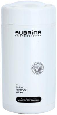 Subrina Professional Colour Reinigungspads zum Entfernen von Farbe von der Haut