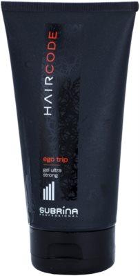 Subrina Professional Hair Code Ego Trip гель для волосся ультра сильна фіксація