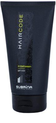 Subrina Professional Hair Code In-Between cera con textura de gel  para dar definición y mantener la forma
