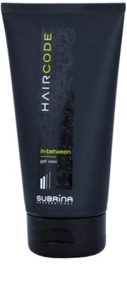 Subrina Professional Hair Code In-Between zselés wax az alakért és formáért
