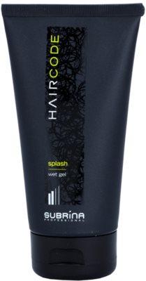 Subrina Professional Hair Code Splash gel para el cabello con efecto mojado