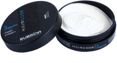 Subrina Professional Hair Code In Disguise матуючий крем для фіксації 1