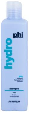 Subrina Professional PHI Hydro champú hidratante para cabello seco y normal