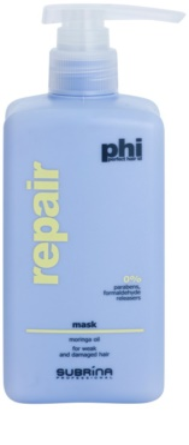 Subrina Professional PHI Repair mascarilla reparación para cabello maltratado o dañado