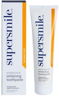 Supersmile Professional bleichende Zahnpasta mit Fluor 1