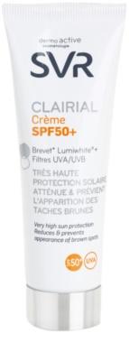 SVR Clairial crema protectora contra las manchas de pigmentación SPF 50+