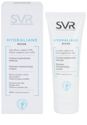SVR Hydraliane creme nutritivo de rosto para hidratação intensiva 1