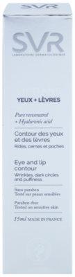 SVR Liftiane krema za predel okoli oči in ustnic proti gubam, zabuhlosti in temnim kolobarjem 2