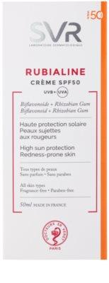 SVR Rubialine védő krém érzékeny, kipirosodásra hajlamos bőrre SPF 50 2