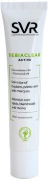 SVR Sebiaclear Active creme gel intensivo contra imperfeições de pele acneica