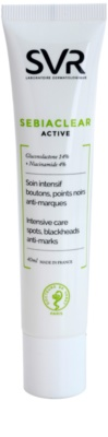 SVR Sebiaclear Active intensive Gel-Creme für Unvollkommenheiten wegen Akne Haut