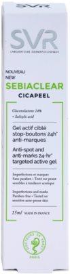 SVR Sebiaclear Cicapeel концентрат для проблемної шкіри проти недоліків проблемної шкіри 2