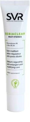 SVR Sebiaclear Mat+Pores fluido matificante para regulação do sebo cutâneo
