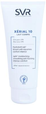 SVR Xérial 10 leche corporal hidratante para pieles secas