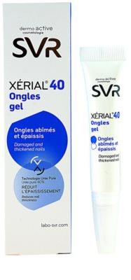 SVR Xérial 40 gel para las uñas dañadas 1