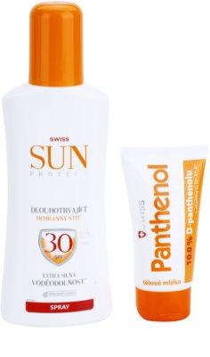 Swiss SunProtect F30 Spray козметичен пакет  I.