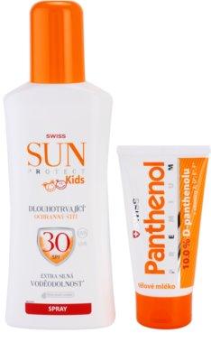 Swiss SunProtect KIDS F30 Spray kozmetika szett I.
