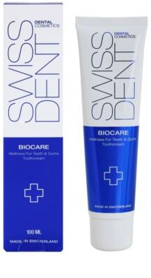 Swissdent Biocare regenerierende und bleichende Zahncreme 1