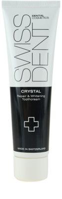 Swissdent Crystal crema dental regeneradora y blanqueadora