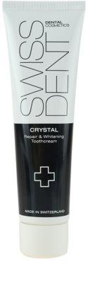 Swissdent Crystal regeneracijska in belilna zobna krema