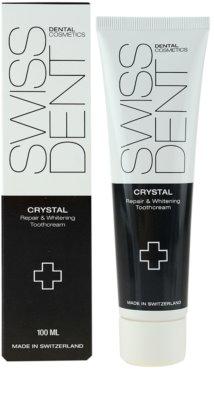Swissdent Crystal crema dentara pentru albire si regenerare 1