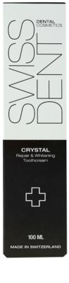 Swissdent Crystal crema dentara pentru albire si regenerare 2