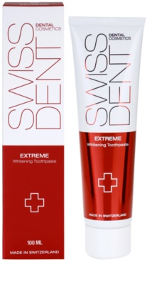 Swissdent Extreme High-Impact Whitening Toothpaste 1