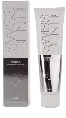 Swissdent Gentle nežna belilna zobna pasta za občutljive zobe 2