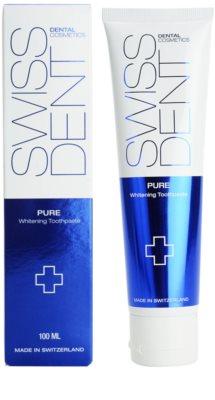 Swissdent Pure enzymatische bleichende Zahncreme 1