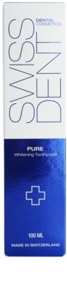 Swissdent Pure enzymatische bleichende Zahncreme 2