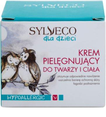 Sylveco Baby Care подхранващ крем за деца 3