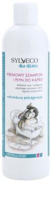 Sylveco Baby Care champú y espuma de baño para niños