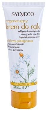 Sylveco Body Care crema regenerativa de protectie de maini
